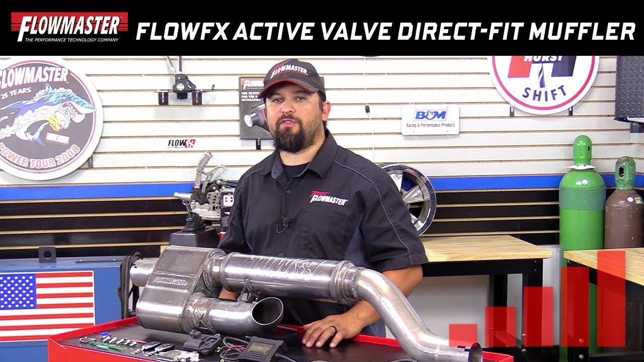 new flowmaster direct fit dual mode