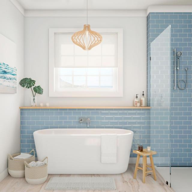 explore coastal bathroom styles for