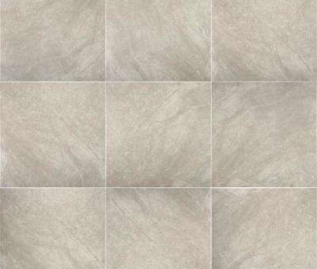Portland Stone Gray  In X  In Glazed Ceramic Floor And Wall Tile