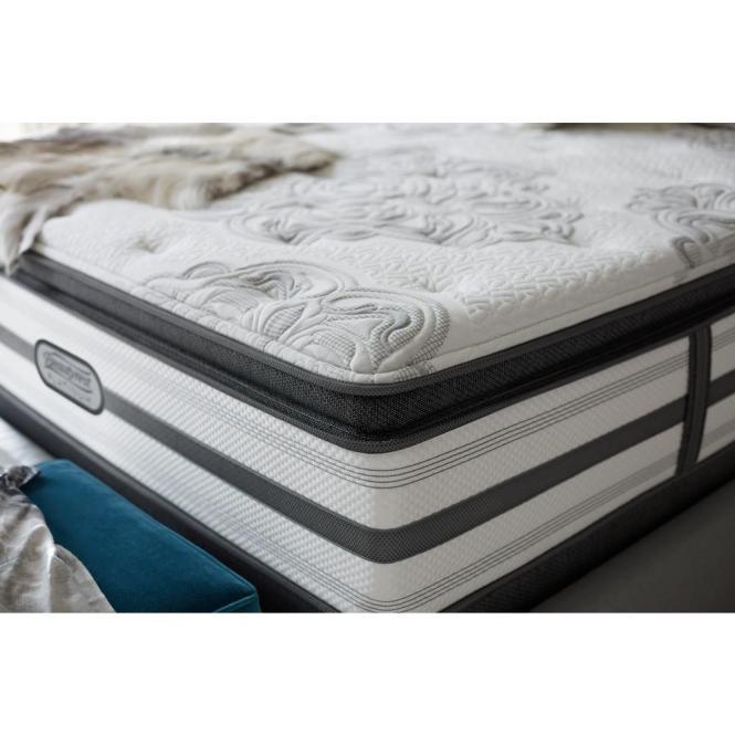Beautyrest South Haven Queen Size Plush Pillow Top Mattress Set 700753251 9950 The Home Depot