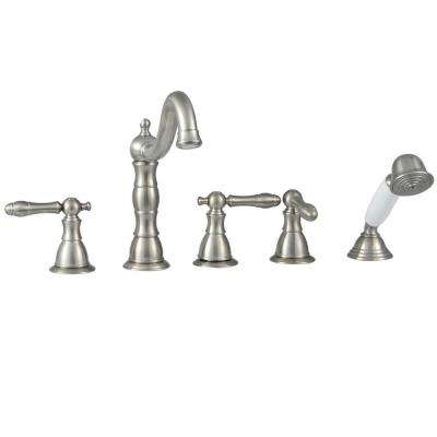 Roman Tub Faucets Bathtub Faucets The Home Depot