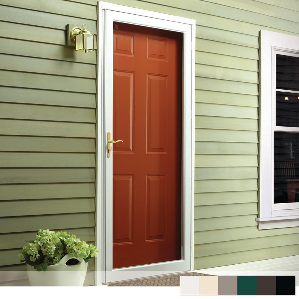 Storm Doors Exterior Doors The Home Depot