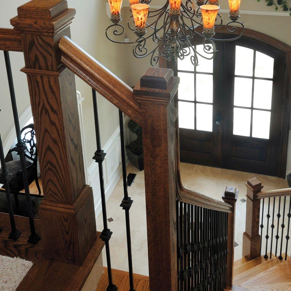 Stair Parts 4091 55 In X 6 1 4 In White Oak Box Newel Post 4091W | White Oak Stair Treads Home Depot | Risers | Red Oak Retread | Flooring | Stair Handrail | Landing Tread
