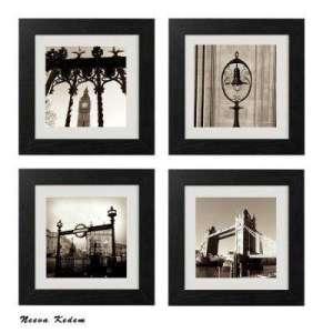 Photography Prints   Wall Art   The Home Depot Four 10 in  x 10 in   London Tea Time  by Neeva Kedem