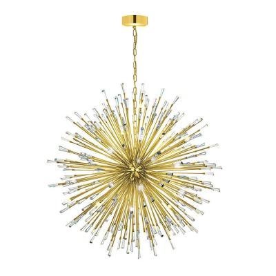 Vivaldo 50 Light Gold Chandelier