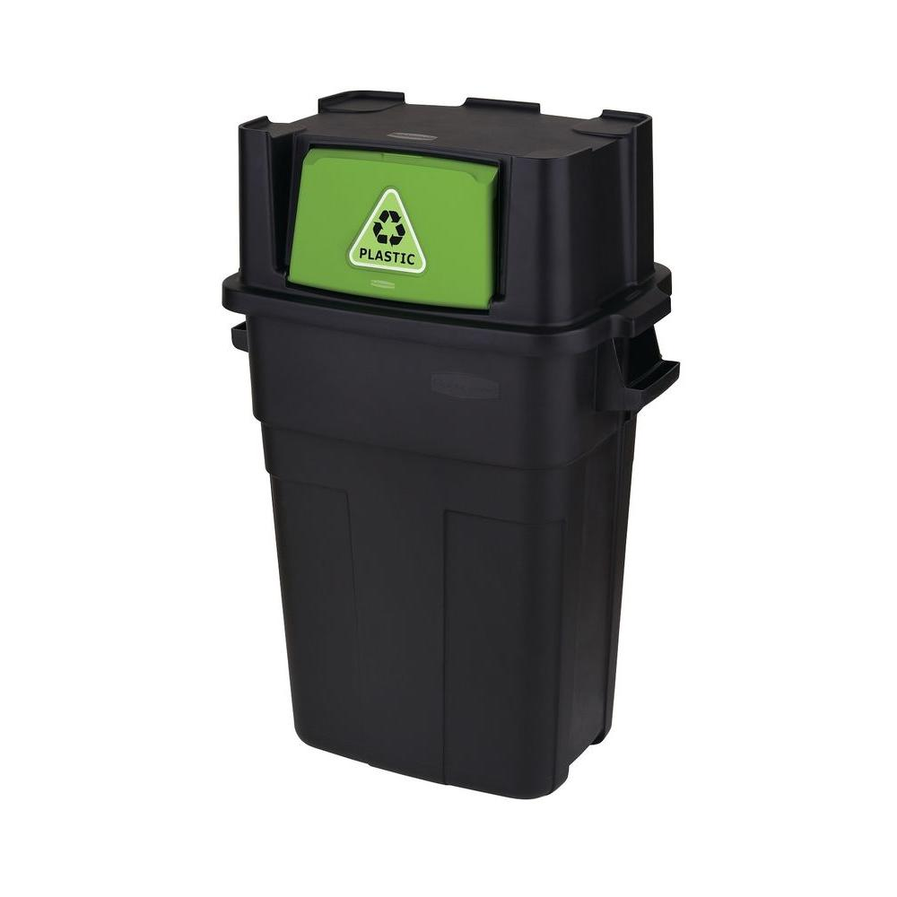Good Best Kitchen Gallery Rubbermaid Gal Stackable Indoor Recycling Bin The  Of With Home Recycling Containers