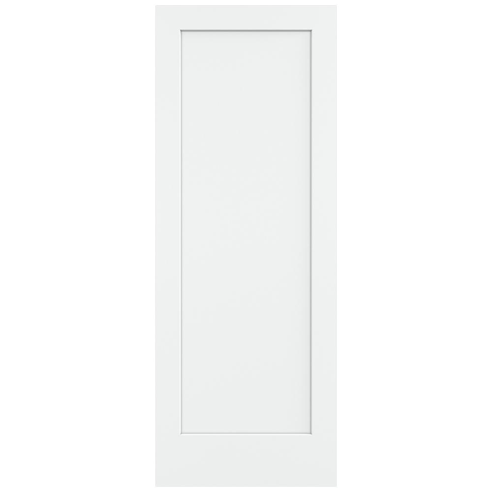 jeld wen 36 in x 96 in white painted smooth 36 In X 96 In Composite White Interior Bi Fold Door id=96086