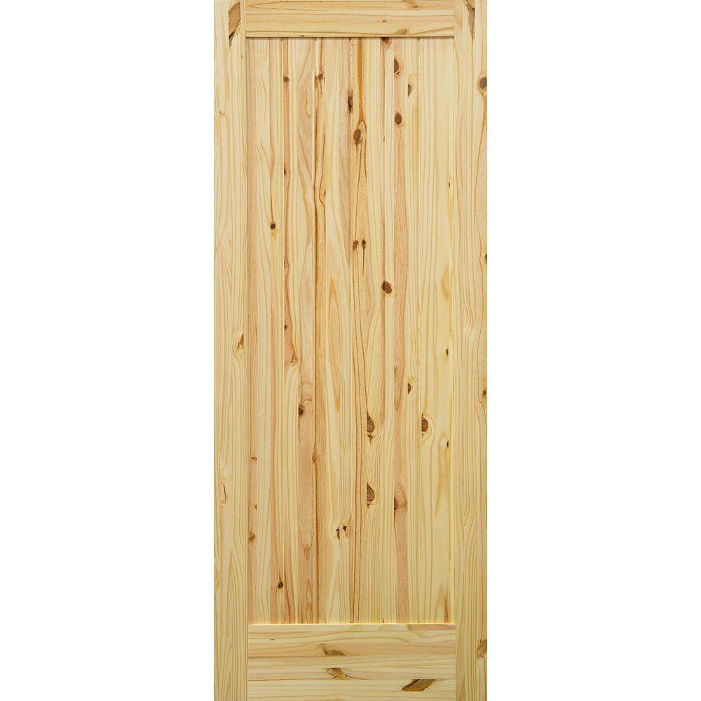 Krosswood Doors 30 In X 80 In Knotty Alder 10 Lite Low E