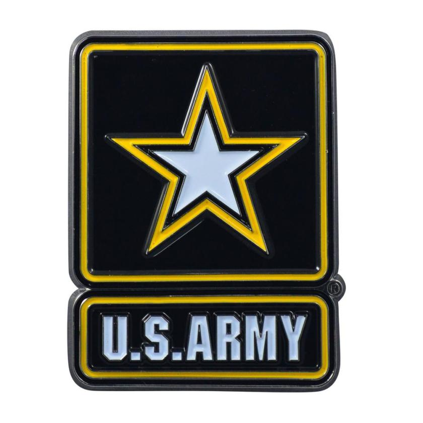 fanmats 2.7 in. x 3.2 in. u.s. army color emblem7