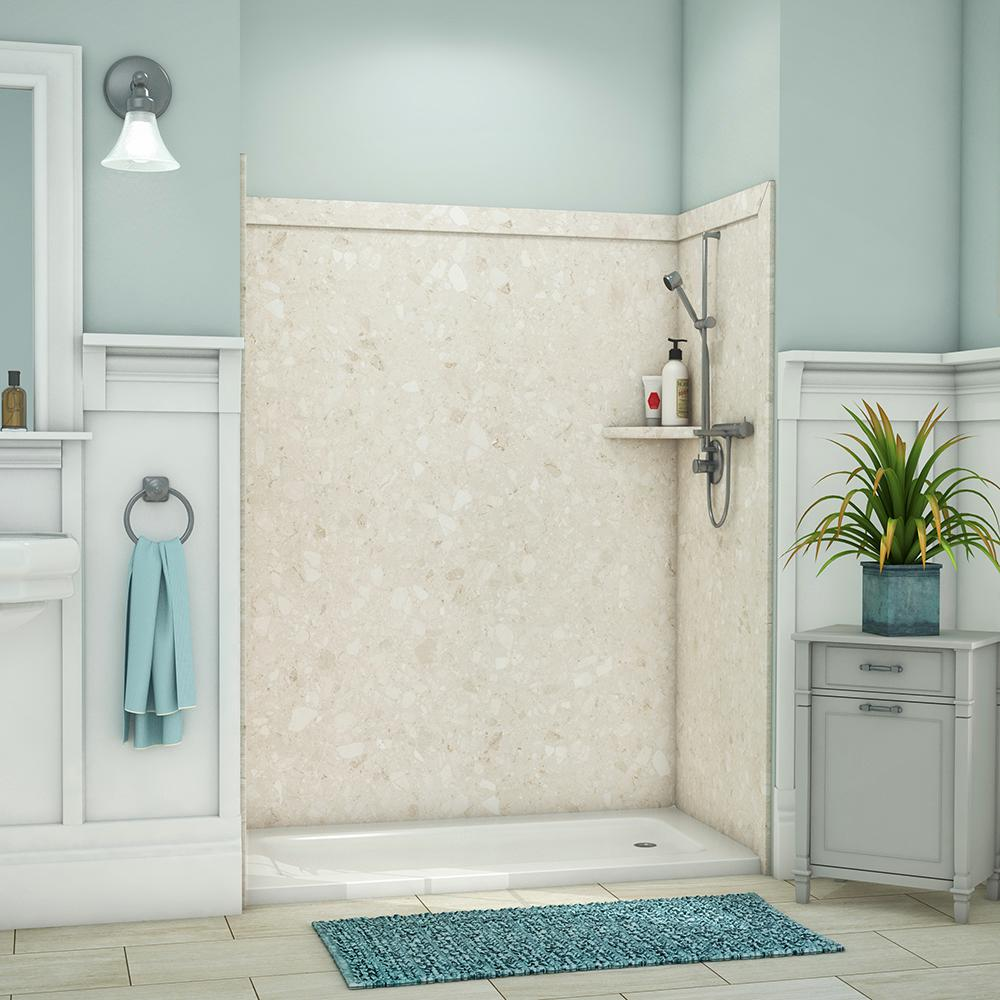 Flexstone Shower Surround Installation Round Ideas