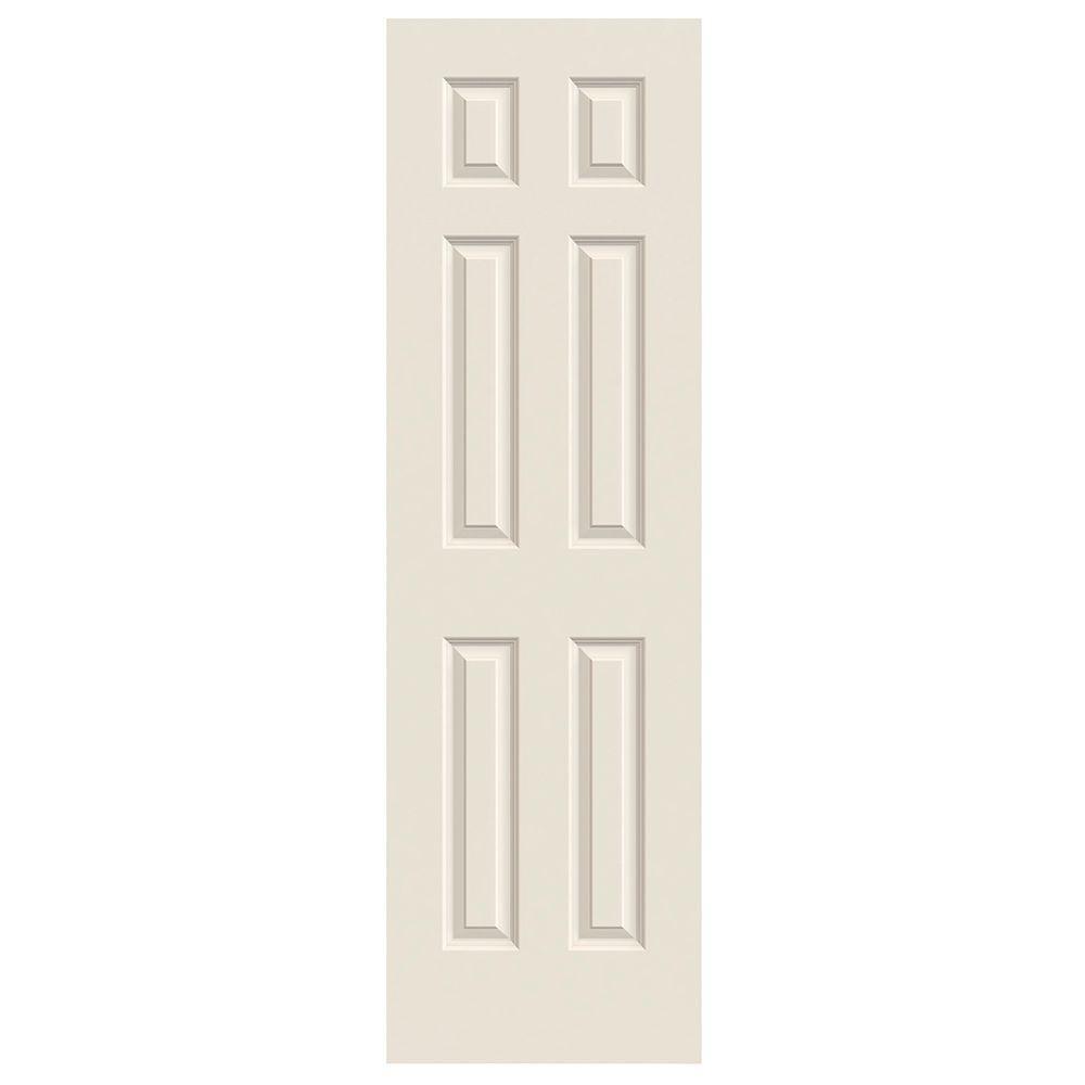 jeld wen 24 in x 80 in colonist primed textured molded Jeld Wen Colonist 24 In X 80 In Primed 6 Panel Solid id=87961