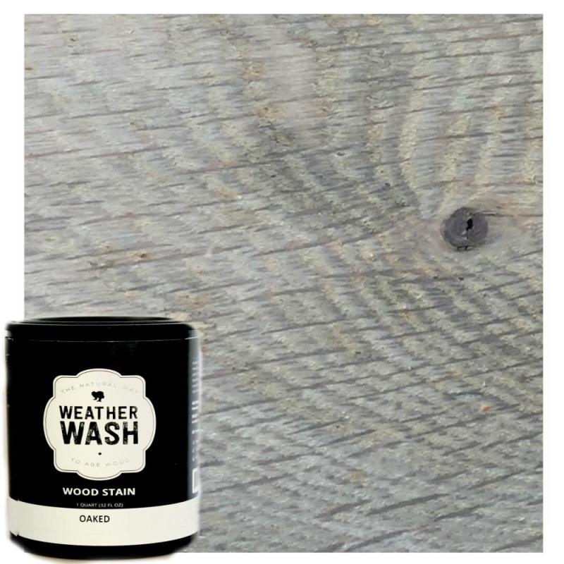 Oaked Interior Weatherwash Aging Stain