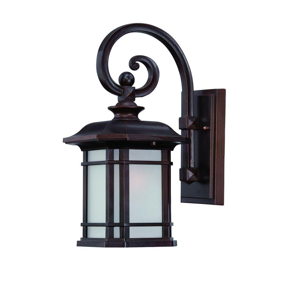 Acclaim Lighting Somerset Collection 1-Light Architectural ... on Outdoor Lighting Fixtures Wall Mounted id=91610