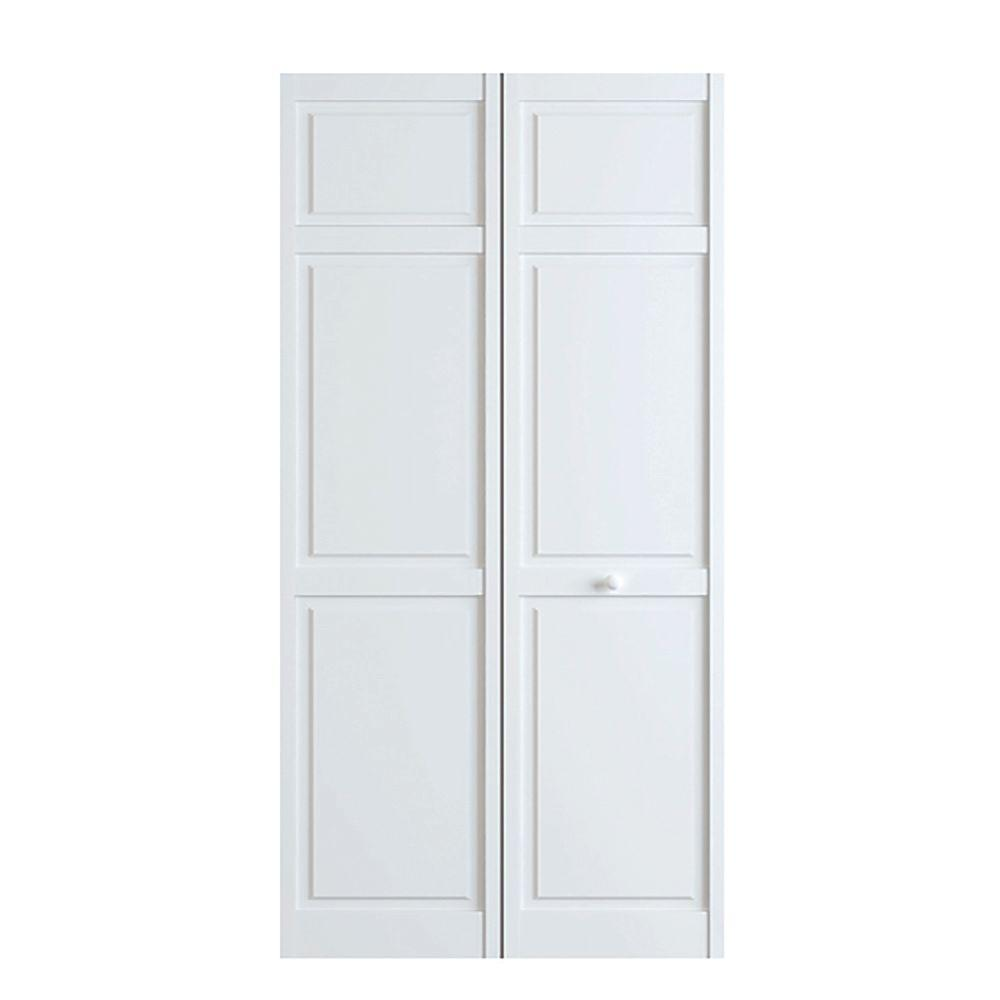 bay 32 in x 80 in white 6 panel solid wood on Bay 32 In X 80 In 32 In Clear 6 Panel Solid id=65624