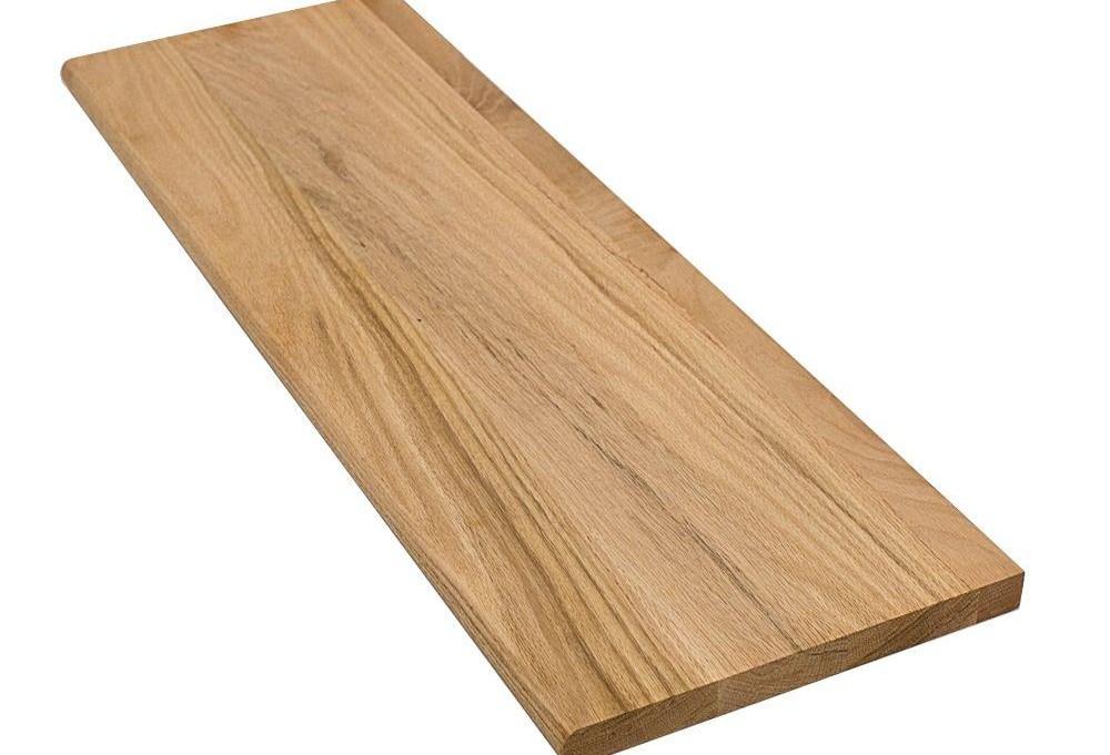 Stairtek 1 In X 11 5 In X 36 In Unfinished Solid | Custom Oak Stair Treads