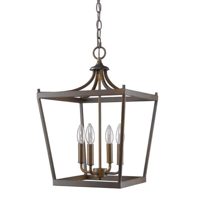 Acclaim Lighting Kennedy 4 Light Indoor Oil Rubbed Bronze Chandelier