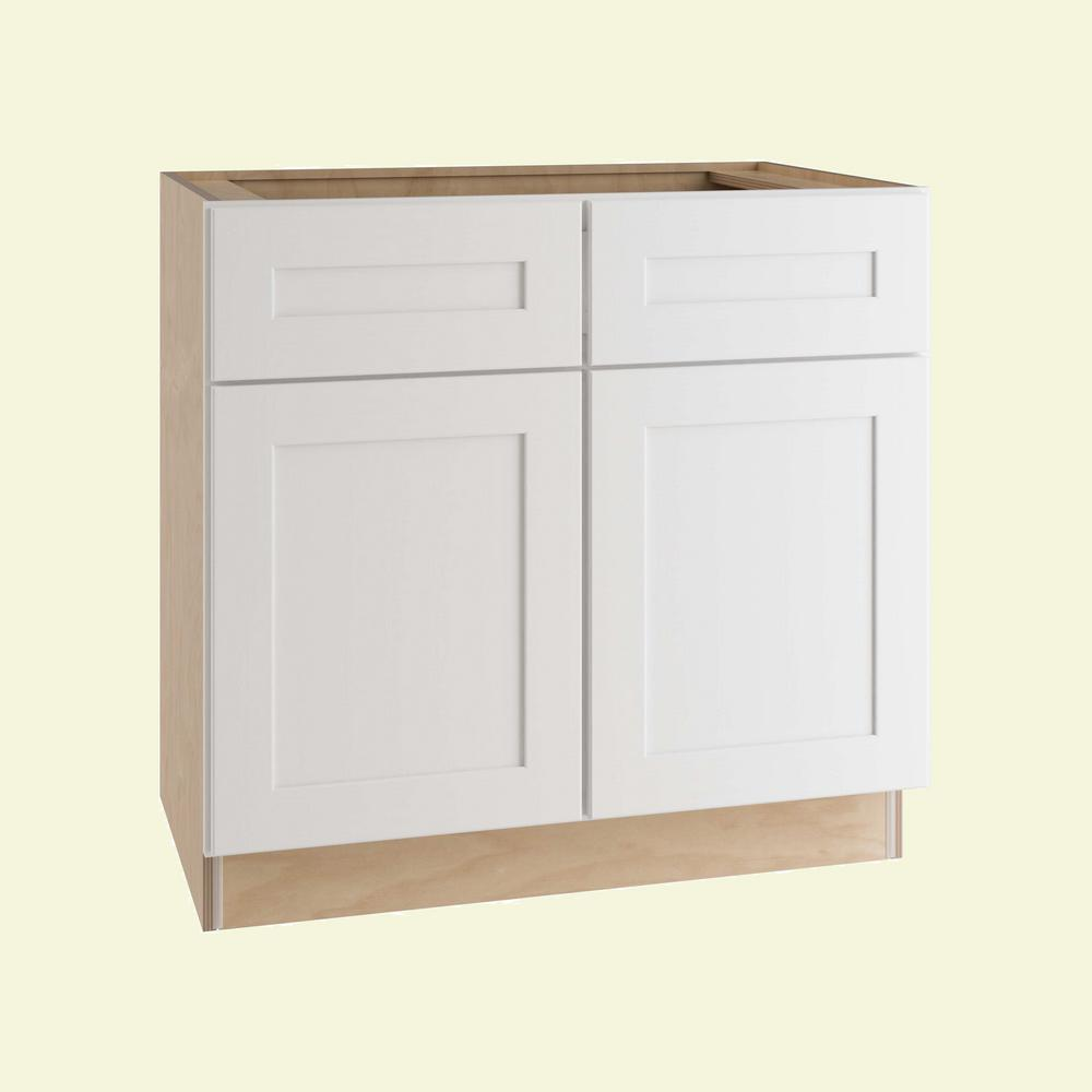 Best Kitchen Gallery: Home Decorators Collection Newport Assembled 33 In X 34 5 In X of 24 Kitchen Cabinet on cal-ite.com