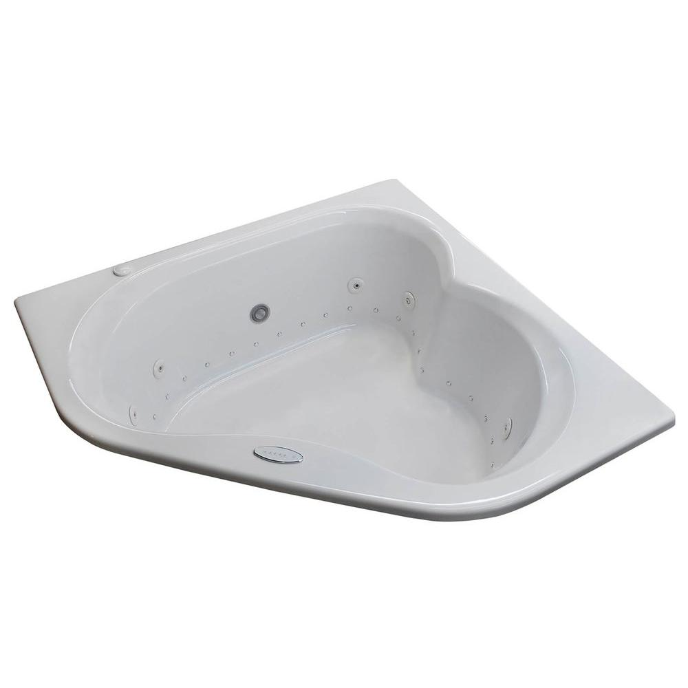 universal tubs beryl 5 ft. acrylic corner drop-in air and