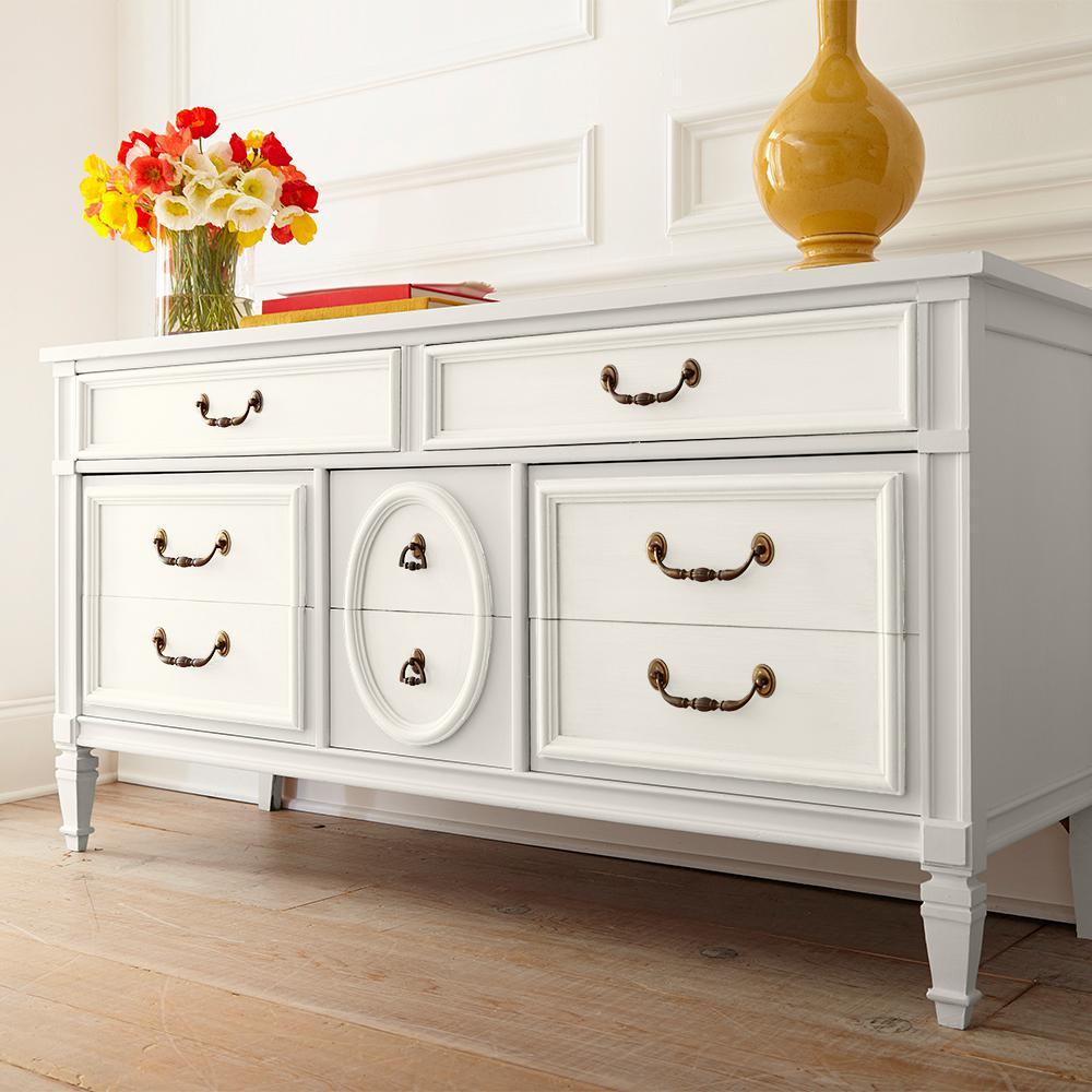 Behr 1 Qt White Interior Chalk Decorative Paint 710004 The Home Depot