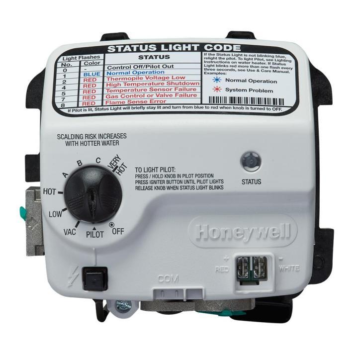 Honeywell Hot Water Heater Status Light Blinking Red