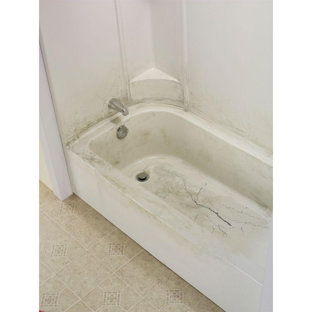 Tub Floor Repair Inlay Kit Fix Leaky Cracked Bathtub