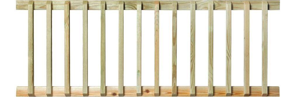 Pressure Treated 6 Ft Handrail 132380 The Home Depot | Pressure Treated Wood Handrail | Menards | Deck Handrail | Cedartone Premium | Treated Pine | Treated Deck Stairs