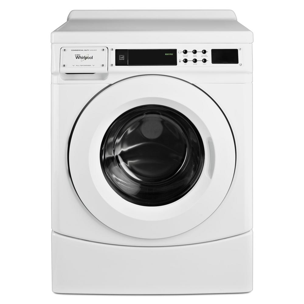 Whirlpool 31 Cu Ft High Efficicency White Front Load