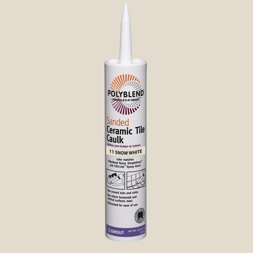 polyblend 543 driftwood 10 5 oz sanded ceramic tile caulk pc54310s 205959498