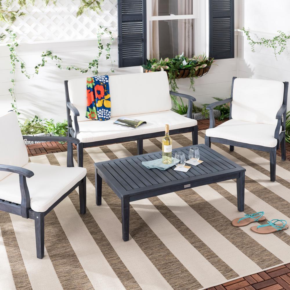 Safavieh - Patio Conversation Sets - Outdoor Lounge ... on Safavieh Raldin id=15122