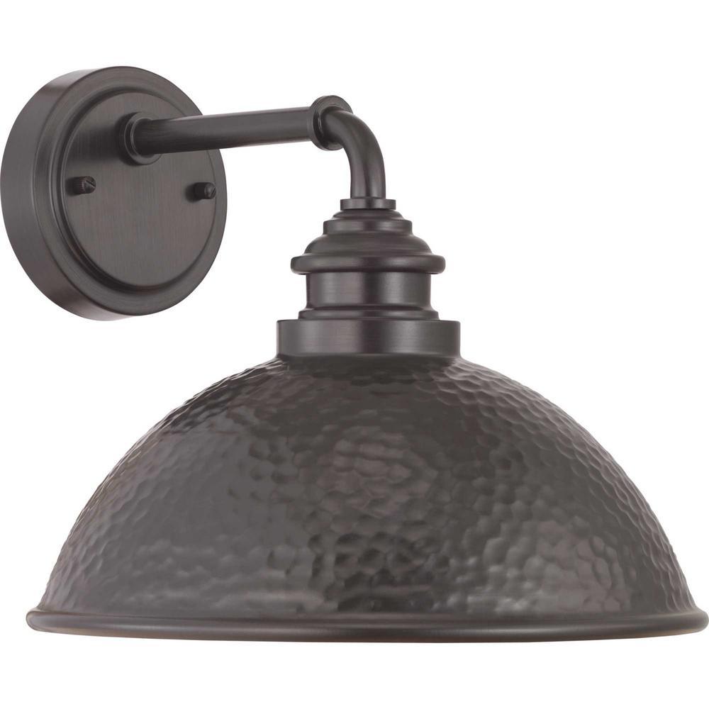 Progress Lighting Englewood 1-Light Antique Bronze Outdoor ... on Sconce Outdoor Lighting id=67208