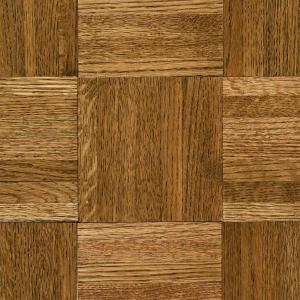 Bruce Butterscotch Parquet 5 16 in  Thick x 12 in  Wide x 12 in     Natural Oak Parquet Spice Brown 5 16 in  Thick x 12 in  Wide