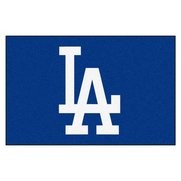 FANMATS MLB - Los Angeles Dodgers Blue 1 ft. 7 in. x 2 ft ...