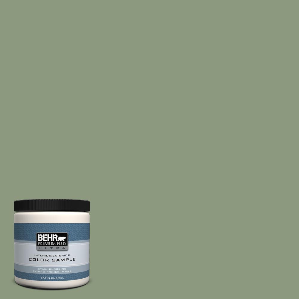 Nº8 oz. #ICC-76 Herbal Scent Satin Enamel Interior/Exterior Paint ...