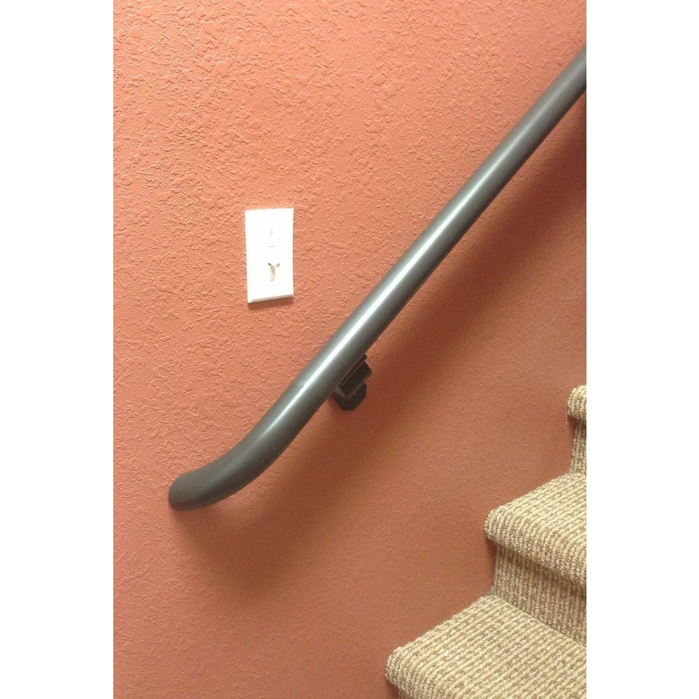 Have Narrow Staircase To Basement Area Need To Put Safety Railing | Handrail For Narrow Staircase | Exterior | Self Standing Narrow | Free Standing | Victorian | Small Staircase