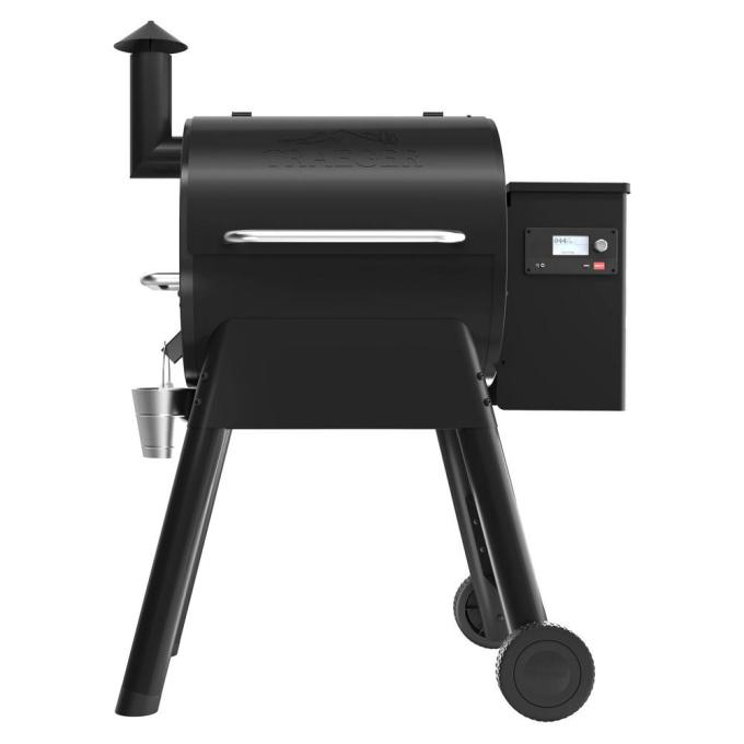 Pro 575 Smart Wood Pellet Grill and Smoker in Black with Wifi Technology