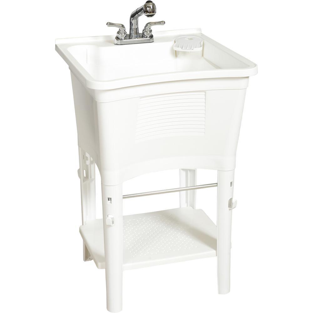 20 gal freestanding laundry tub