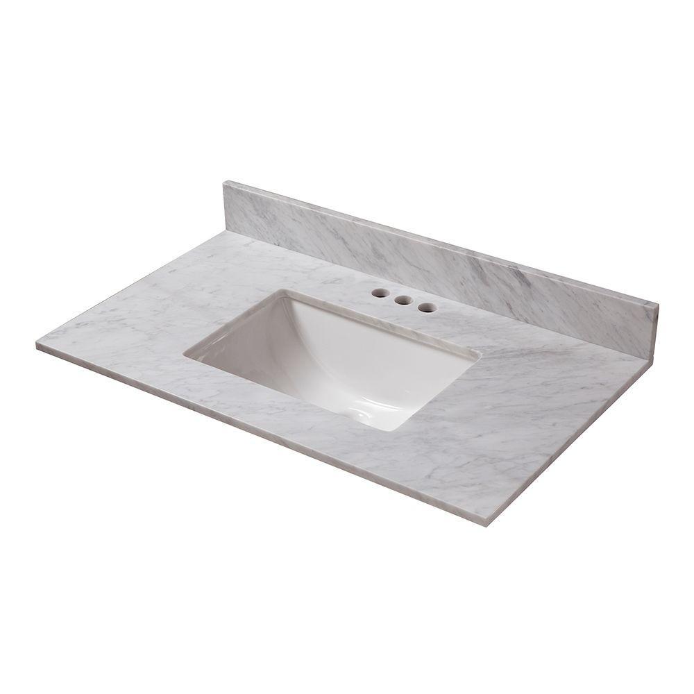 vanity tops - bathroom vanities - the home depot