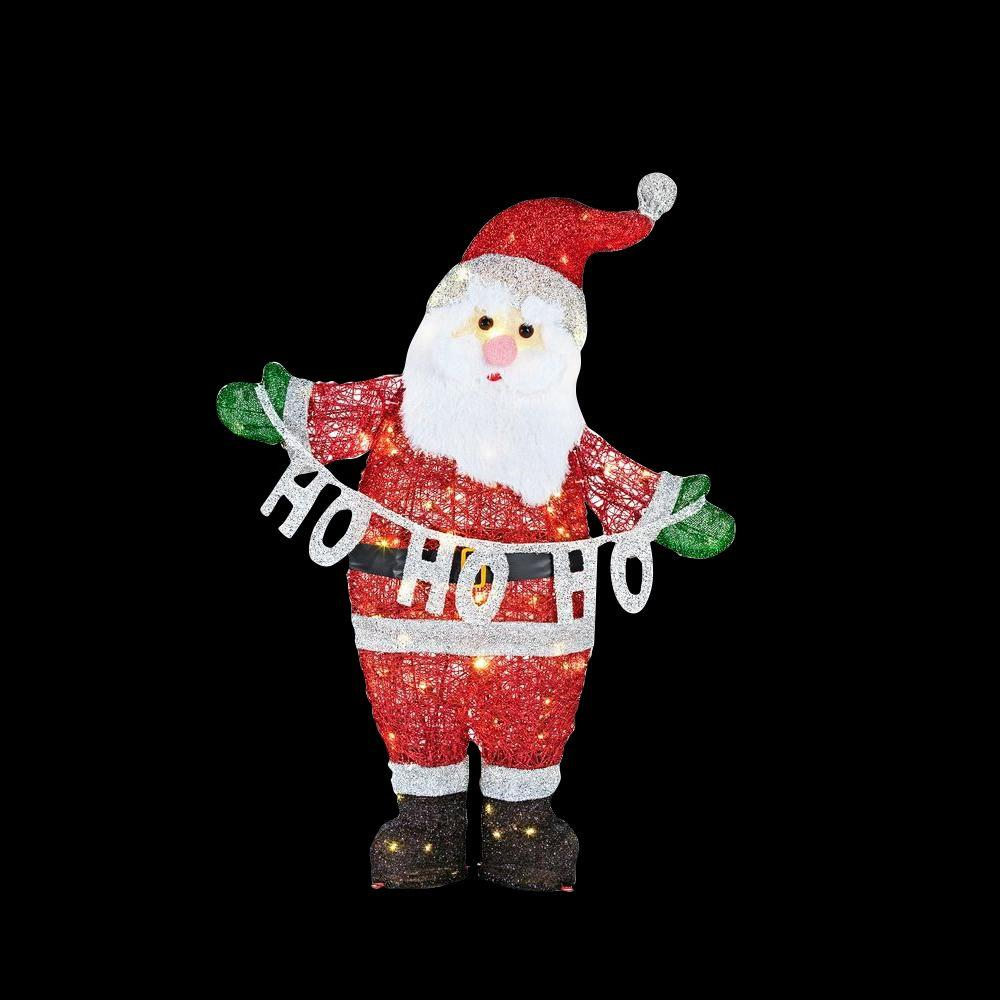 Home Accents 9ft Led Santa