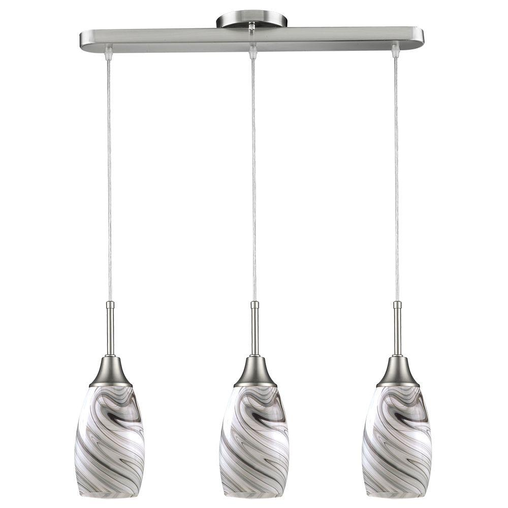 Beldi Peak 3 Light Kitchen Island Pendant 1935 P3