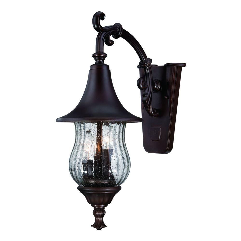 Acclaim Lighting Del Rio Collection 3-Light Architectural ... on Outdoor Lighting Fixtures Wall Mounted id=55159