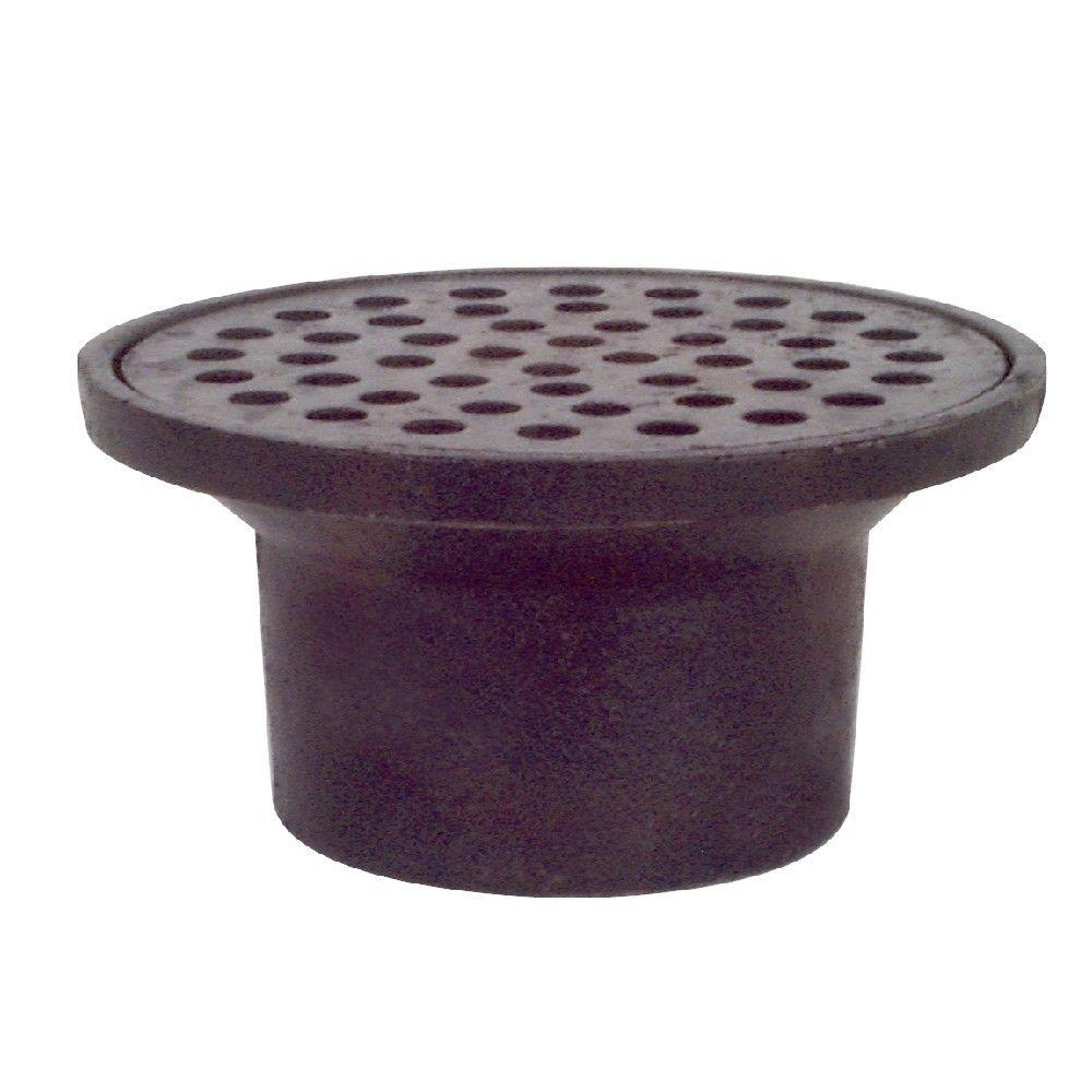 2 In Cast Iron St Louis Style Floor Drain With 4 34 In