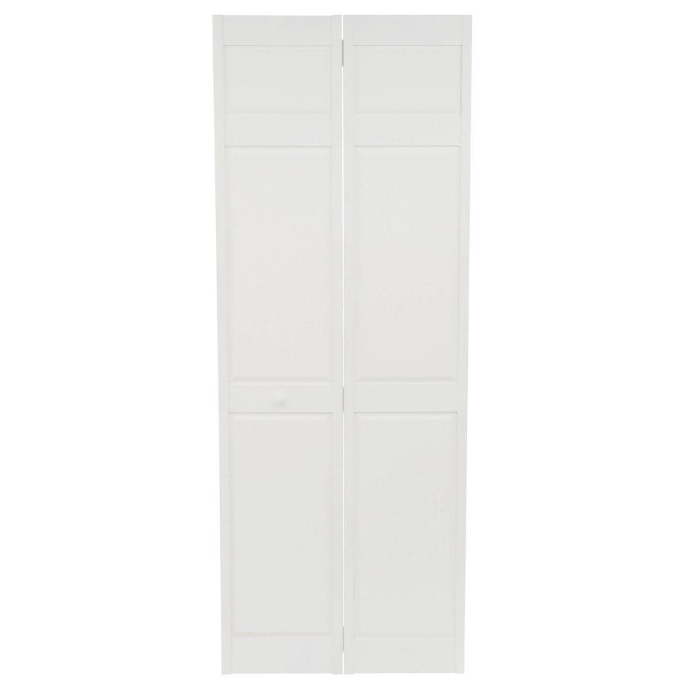 home fashion technologies 30 in x 80 in 6 panel primed Home Fashion Technologies 30 In X 80 In 3 In Louver id=78918