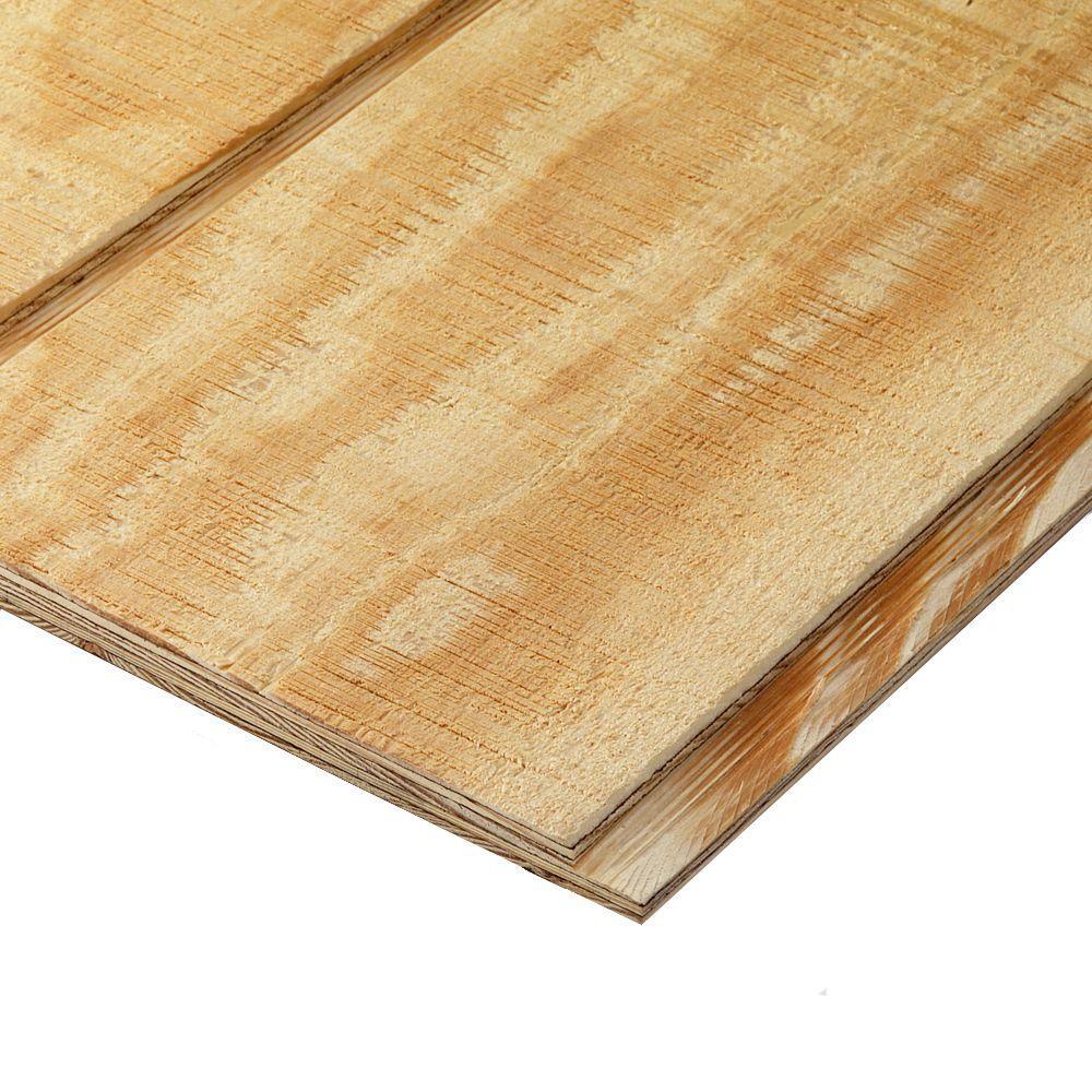 Plytanium Plywood Siding Panel T1 11 8 In Oc Nominal 19