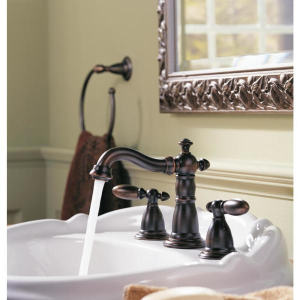diamond seal technology delta faucet victorian widespread bathroom faucet 3 hole metal drain assembly gold bathroom faucet champagne bronze 3555 czmpu dst tools home improvement bathroom sink faucets parts