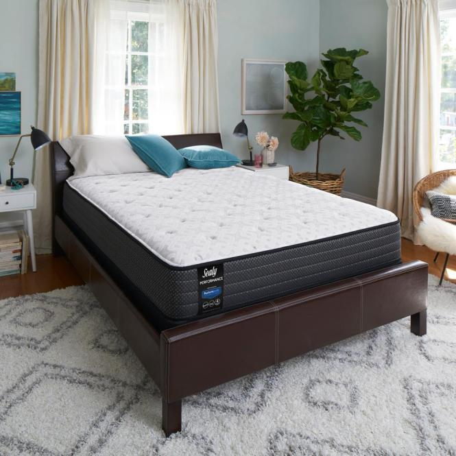 Sealy Response Performance 12 In Queen Plush Top Mattress Set With 9
