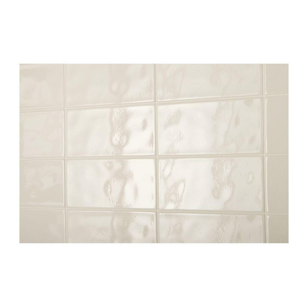 glazed ceramic wall tile