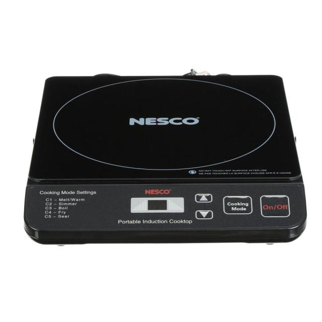 Portable Induction Cooktop In Black With 1 Element