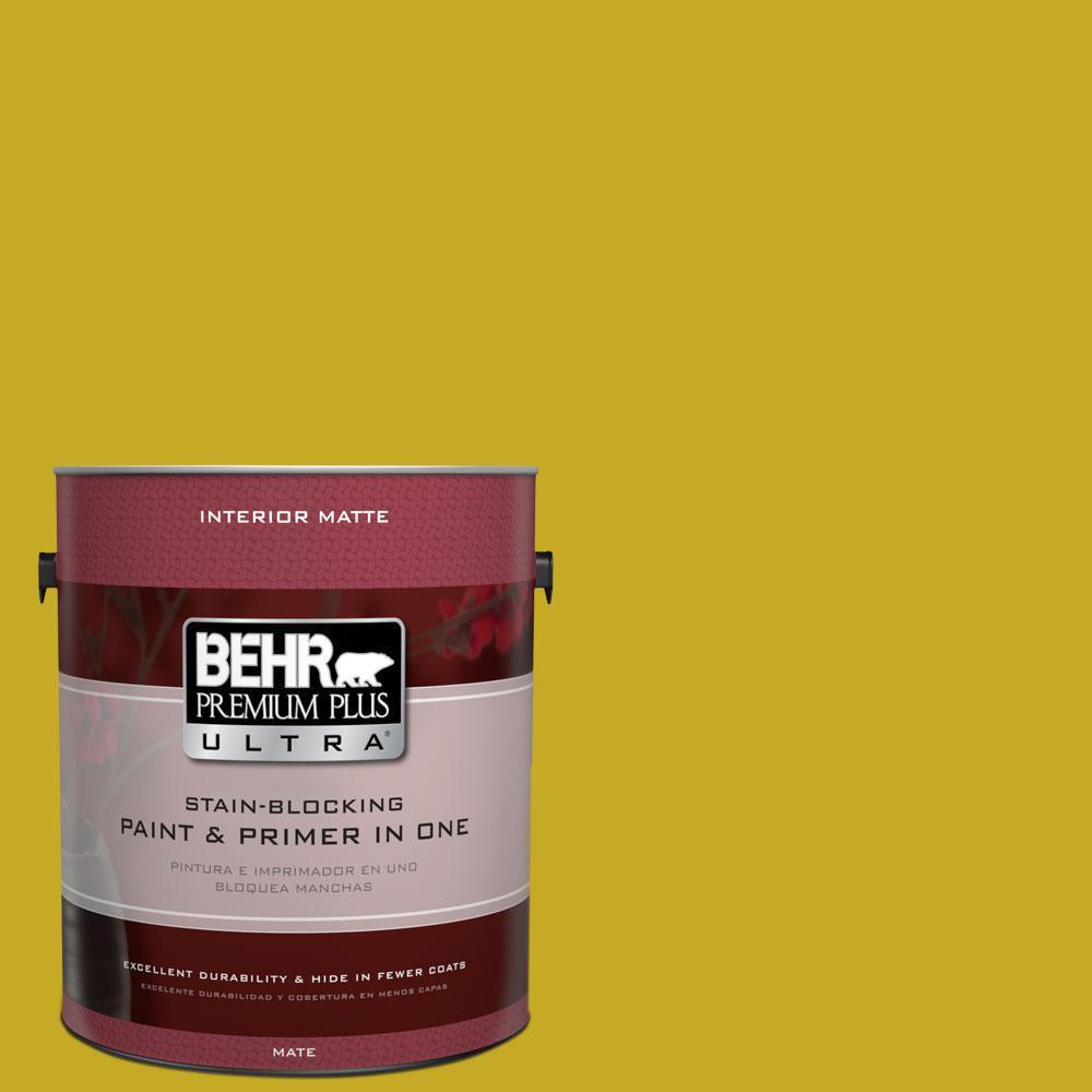 இHome Decorators Collection 1 gal. #HDC-MD-03 Citronette Matte ...