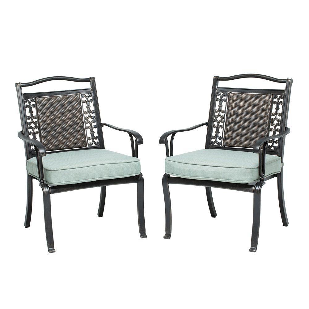 Martha Stewart Living Bellaire Patio Dining Chair (2-Pack ... on Martha Stewart Living Outdoor Patio Set id=95105