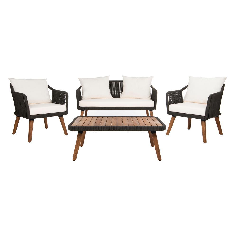 Safavieh - Patio Conversation Sets - Outdoor Lounge ... on Safavieh Raldin id=58578